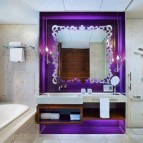"""A """"Fabulous"""" room bathroom."""