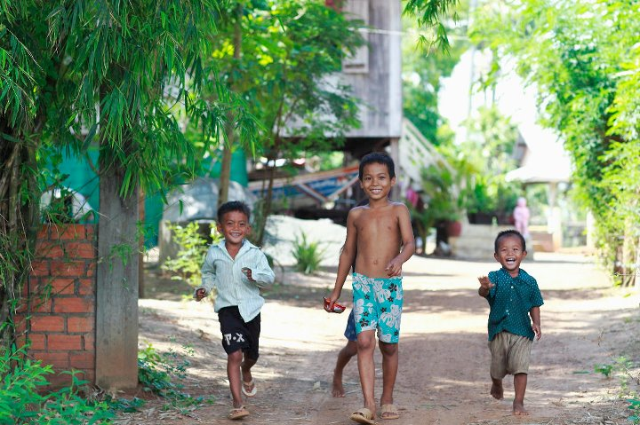 Cambodian children at play.