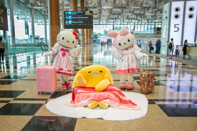 Hello Kitty and Her Sanrio Friends Are Coming to Singapore's Changi