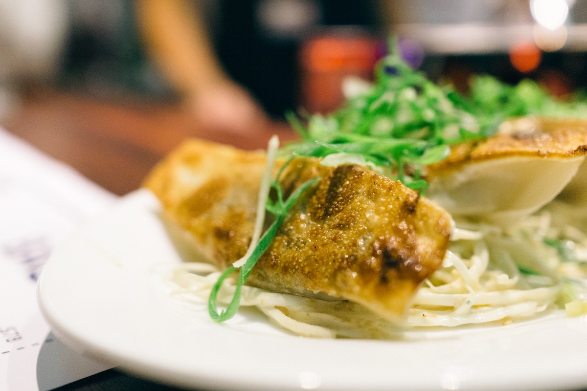 The short rib dumpling, a non-bao offering from Little Bao.