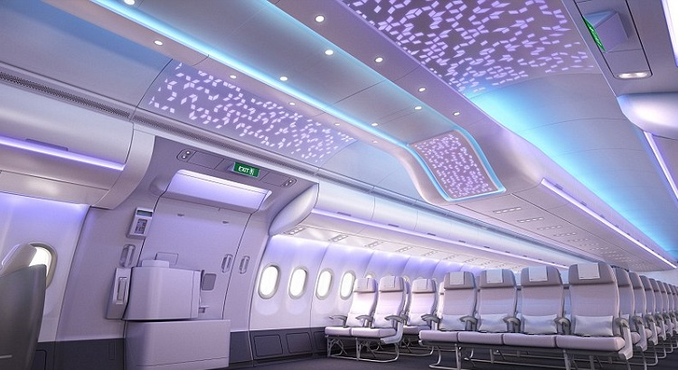 Airbus announced that the A330neo aircraft will have a spacious new passenger welcome area that can be customized by the airline.