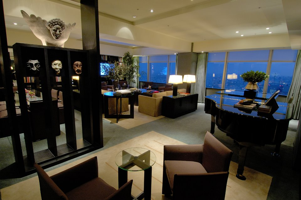 A view of the hotel's Tokyo Suite.