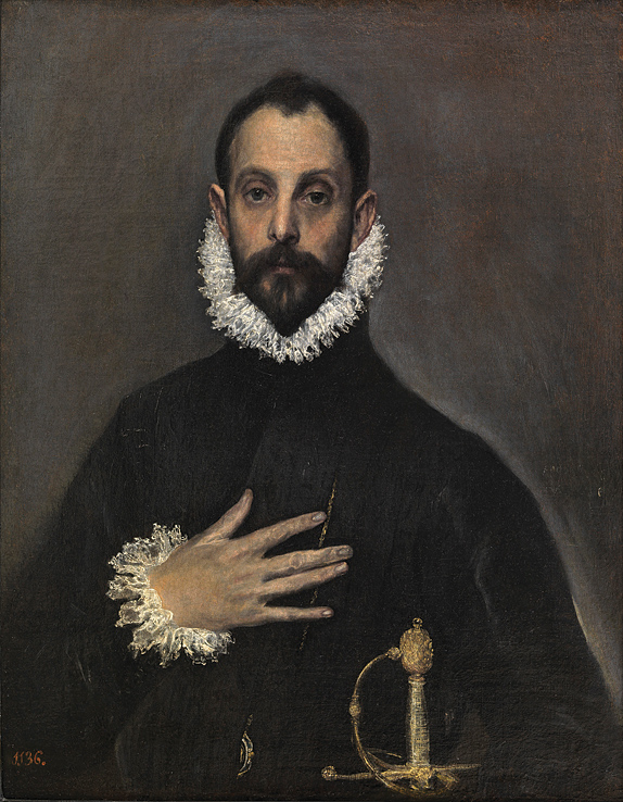 A portrait of a Spanish gentleman circa 1580.
