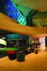 The lobby at LIT Bangkok Hotel.