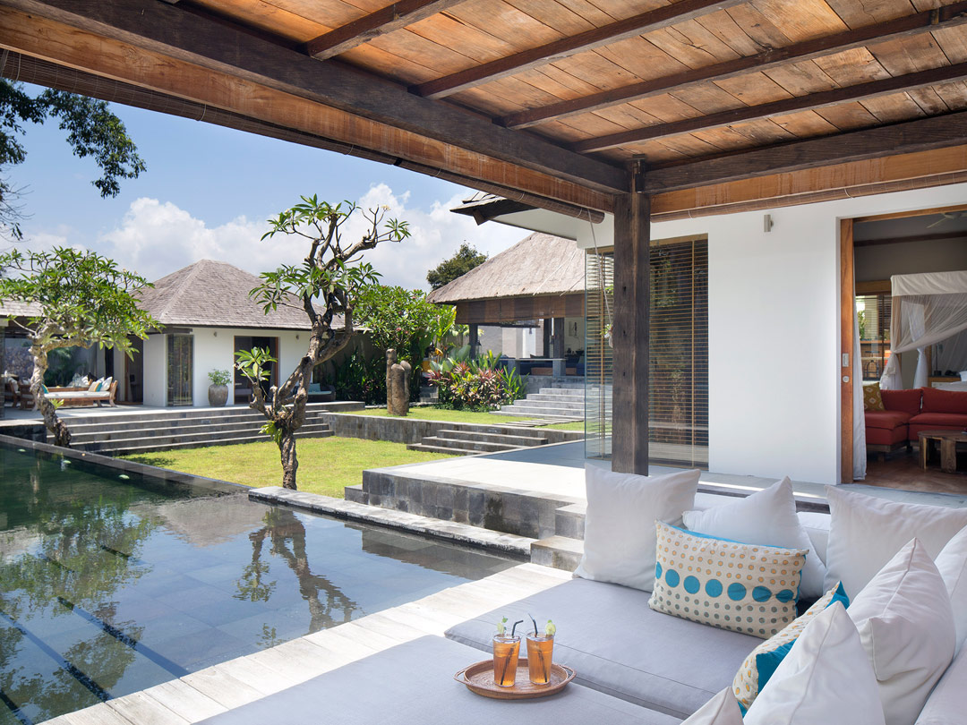 Tropical luxury at Villa Levi in Bali.