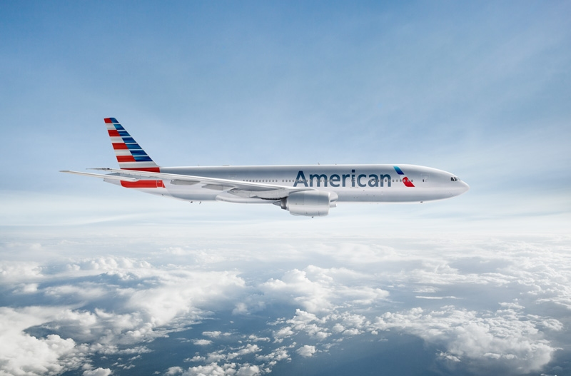 American Airlines plans to fly five times a week to Shanghai via a Boeing 777-200.