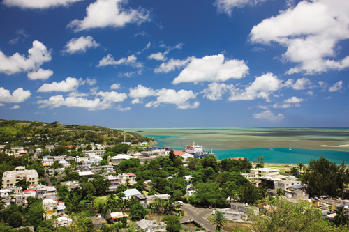 Rodrigues's tiny capital, Port Mathurin, overlooks a vast lagoon on the north coast of the island