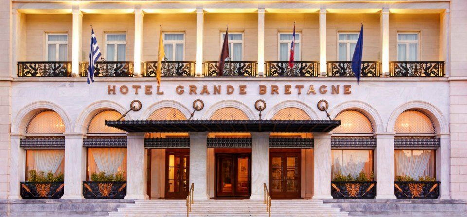Hotel Grande Bretagne, Athens.