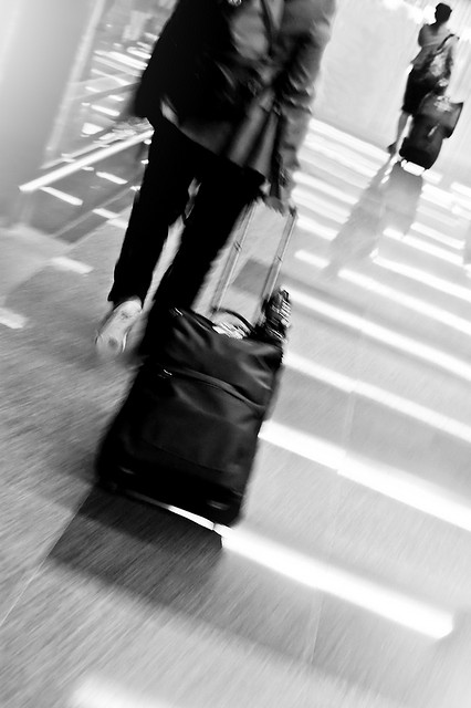 Sixty-four percent of Americans plan to travel the same as last year. Photo by Fechi Fajardo