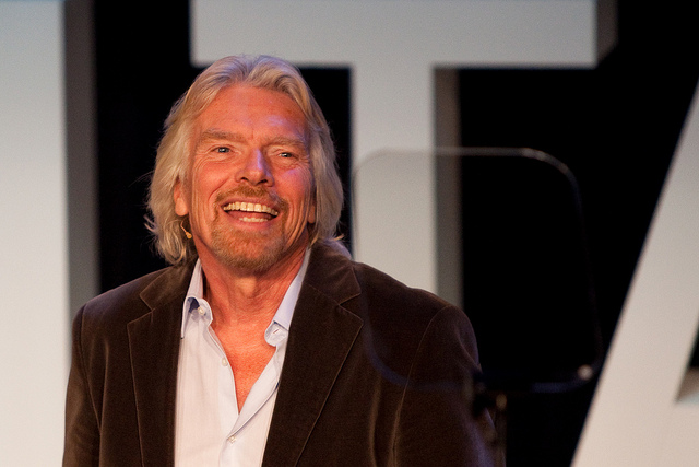 Billionaire Richard Branson has his own island to call home. Photo by Jarle Naustvik