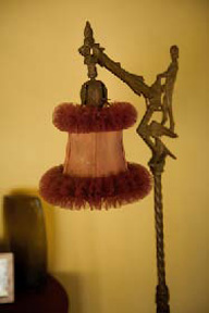 Villa suites are decorated with antiques.