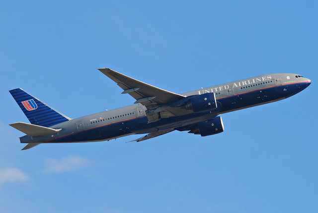 The Boeing 777 has the best safety rating, image by Peter Pearson.