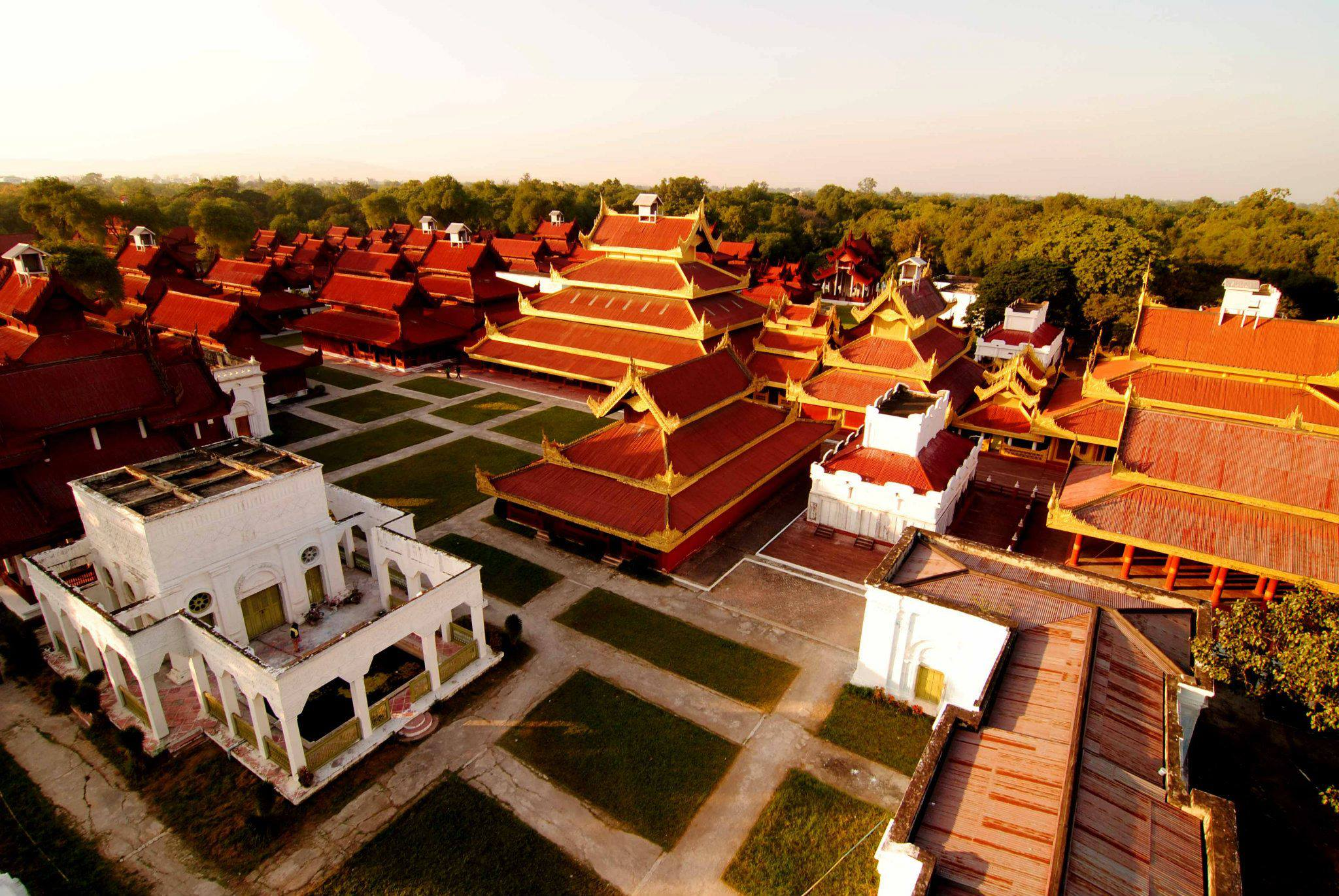 The Mandalay Royal Palace.