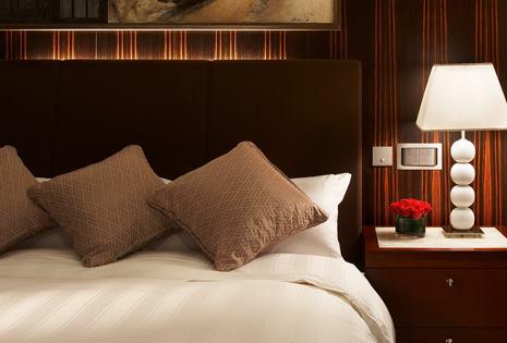 Stylish interiors at Lotte Hotel.
