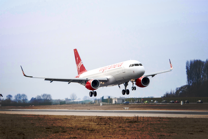 Virgin America cleaned up with three awards.