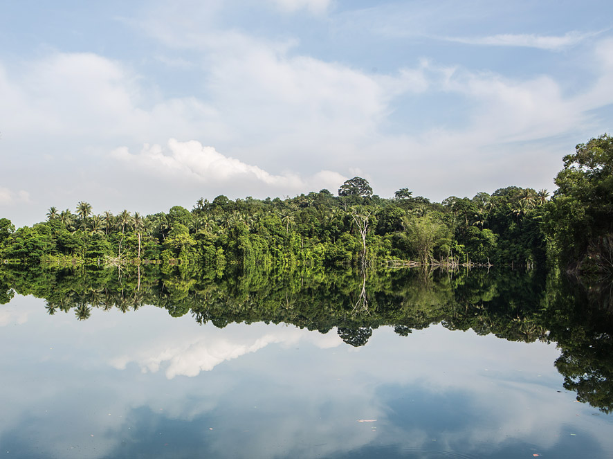 Pulau Ubin is only a 10-minute boat ride away from Singapore.