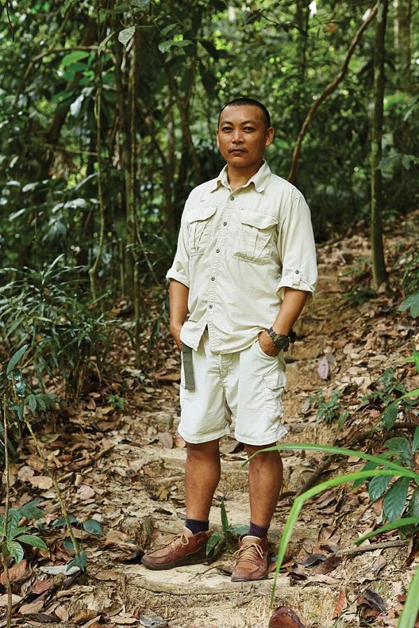 Resident naturalist Justin Juhun.