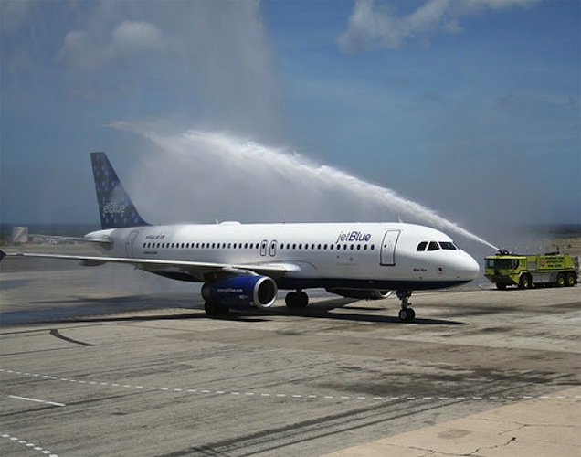 JetBlue first introduced in-flight WiFi in 2008.