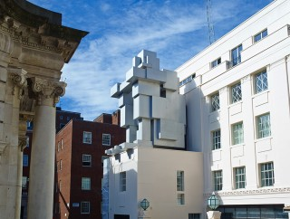 Antony Gormley's cubist rendition of The Thinker doubles as a hotel stay.