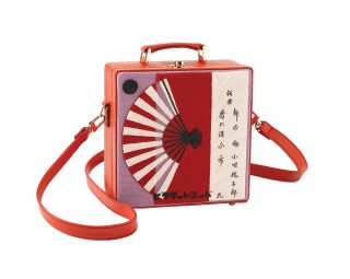 Boxy Fan Purse