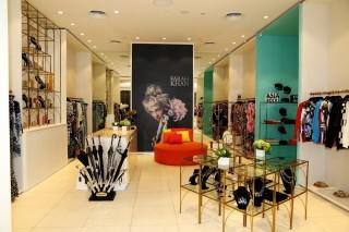 Asian handicrafts meet high fashion in designer Farah Khan's boutique.