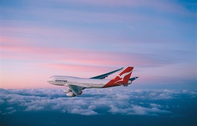 Qantas B747s