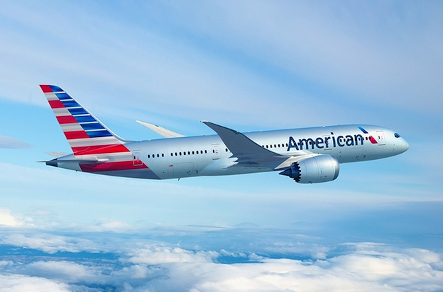 American Airlines' B787-800.