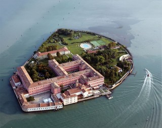 The six-hectare Isola di San Clemente is now home to St. Regis's third Italian property.