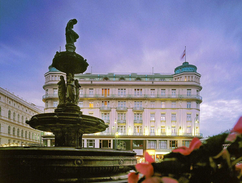 Hotel Bristol, Vienna.