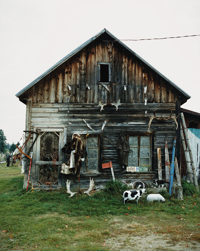 A trapper's house in Quebec, Canada.