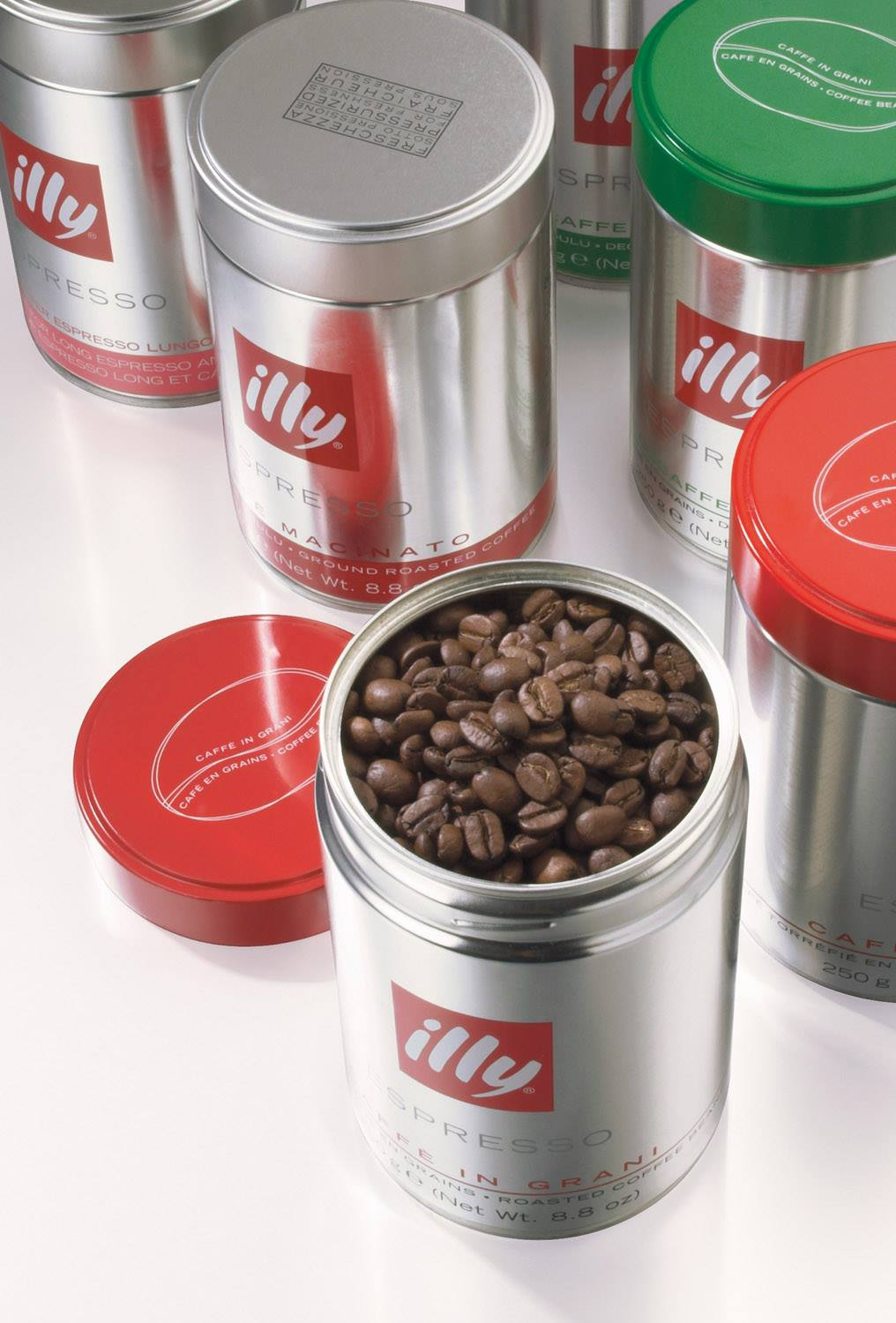 A selection of single-origin and blended illycaffè coffee will be on offer.