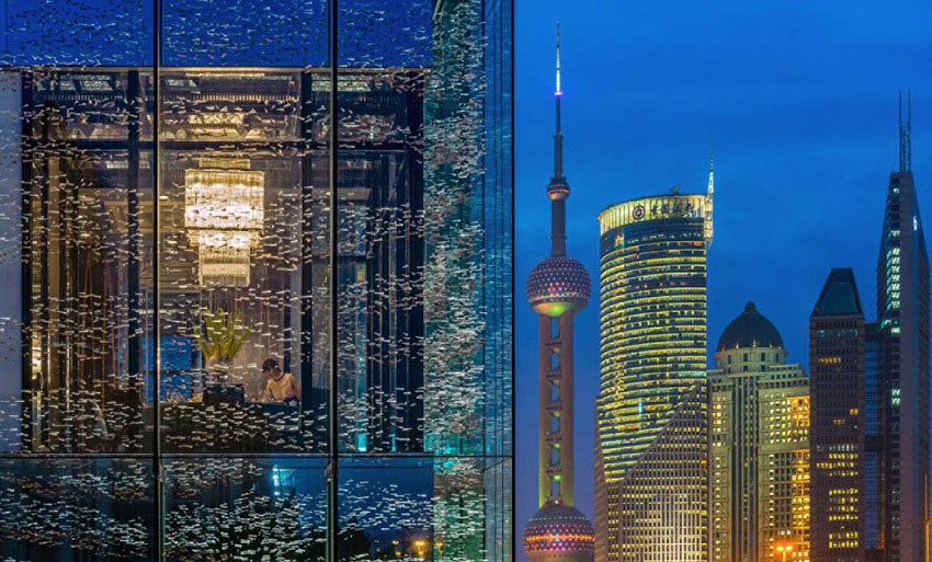 The Four Seasons' second property is located in the Lujiazui financial district.