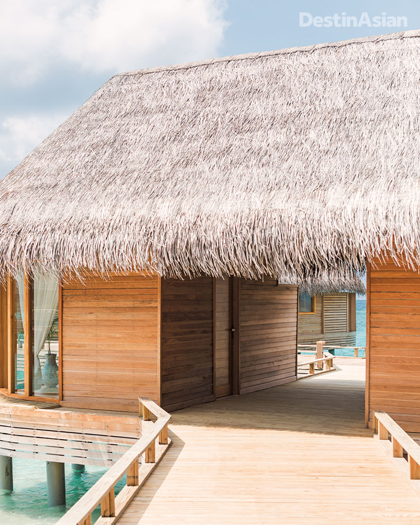 Overwater luxury at Milaidhoo Island.