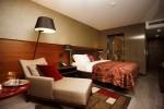 A Sky Suite bedroom.