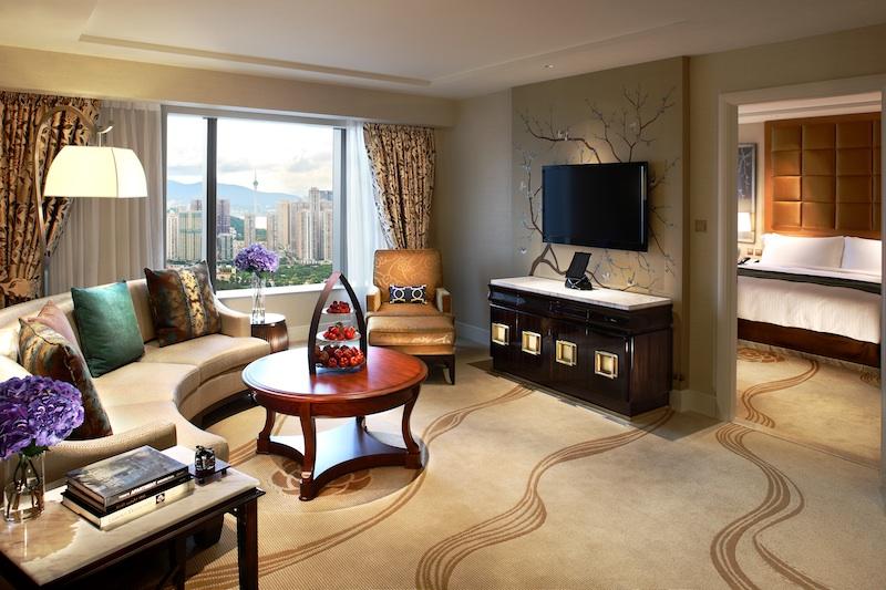 A suite at Conrad Macao.