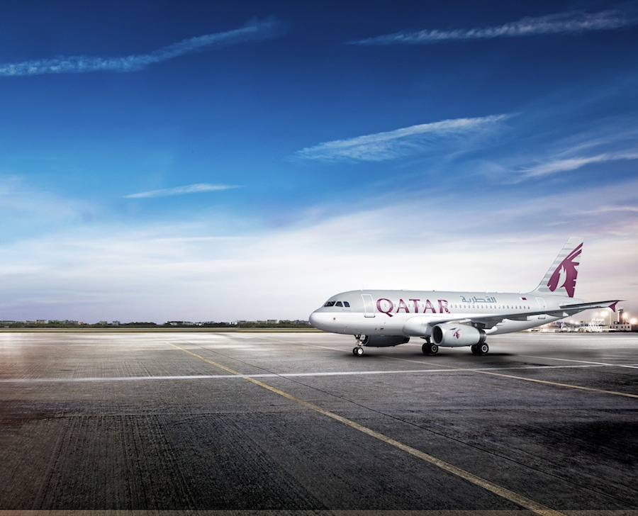 Qatar's newest A319.