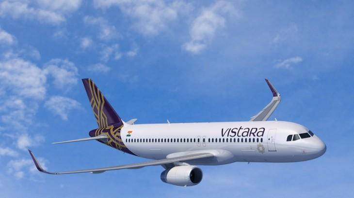 Vistara's A320