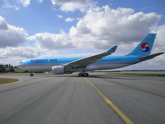 The Seoul Incheon−Milan service will be serviced by the airline's A330-200.
