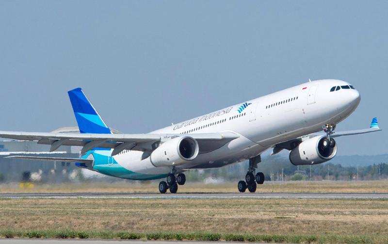 Garuda will welcome guests aboard its latest A330 on its Jakarta-Haneda route.