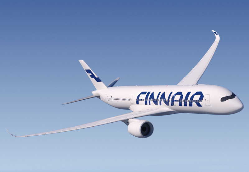 Finnair will be the European launch customer for the Airbus A350.