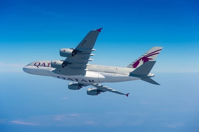 Qatar's second A380 service to London will commence July 16.