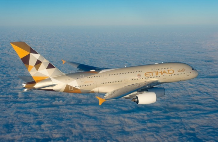 Etihad commenced A380 service to JFK in December.