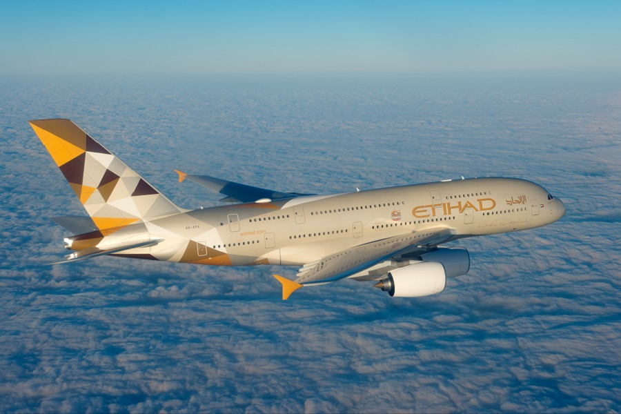 Etihad Airways's A380 is the only airline in the world with a three-room suite.