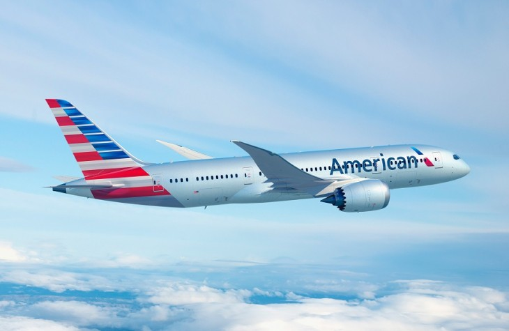 Starting in June, AA's new 787 Dreamliners will service the route.