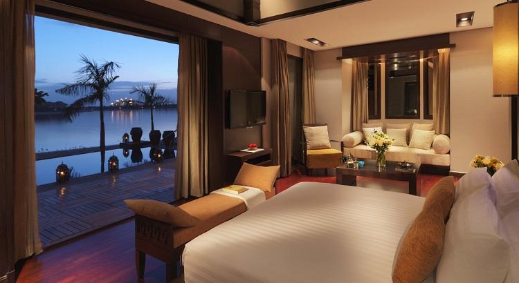 The one bed beach villa at Anantara The Palm Dubai.