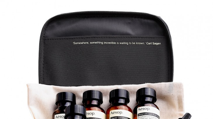 Aesop's Boston Travel Kit
