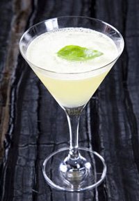 The Kiwi Basil Martini.