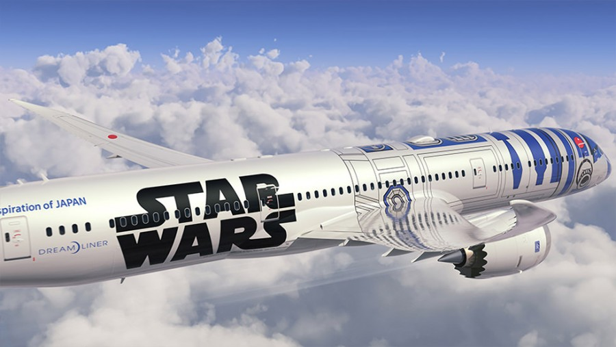 The R2-D2 ANA Jet will fly for the first time on October 18 to Vancouver.