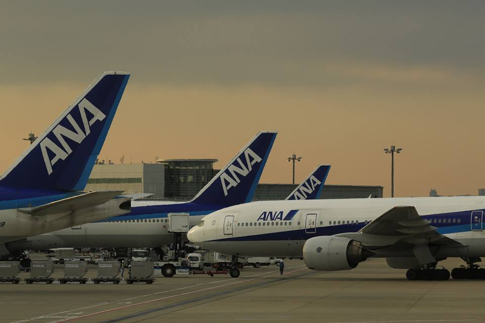 All-Nippon Airways scored well in a punctuality survey.