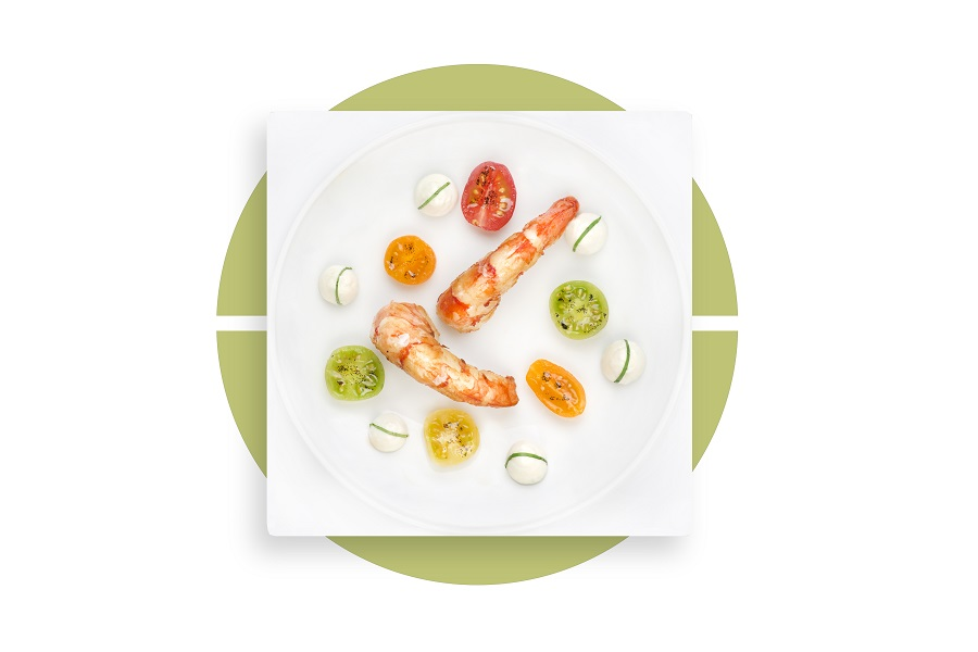 Anne-Sophie Pic's dishes is available for passengers in Air France's La Premiere class.